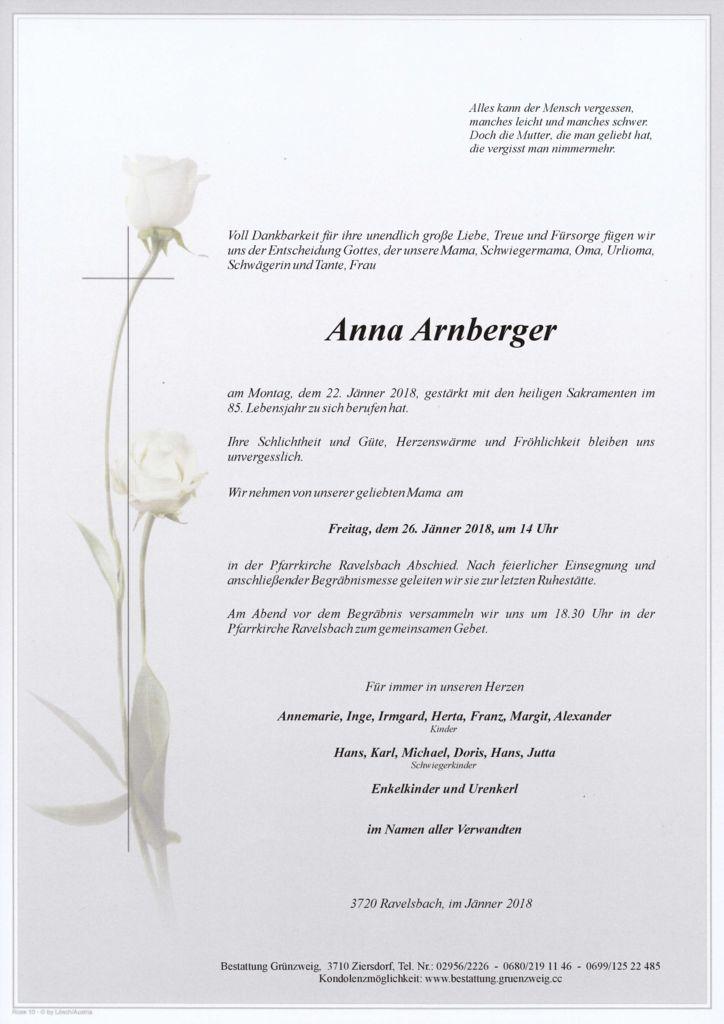 Anna Arnberger