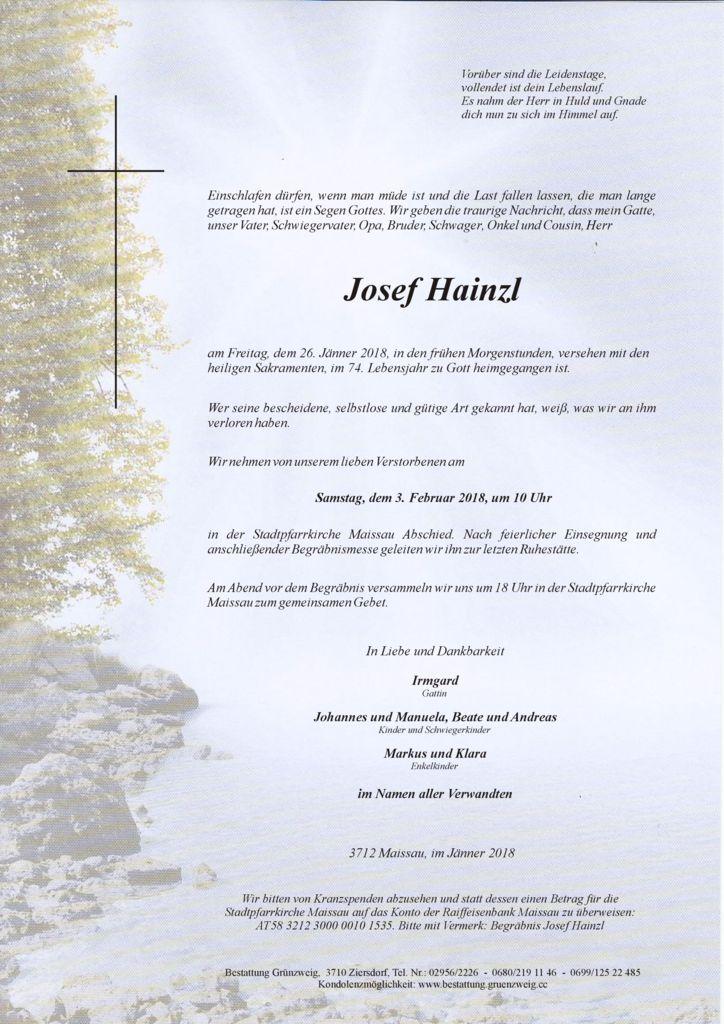 Josef Hainzl