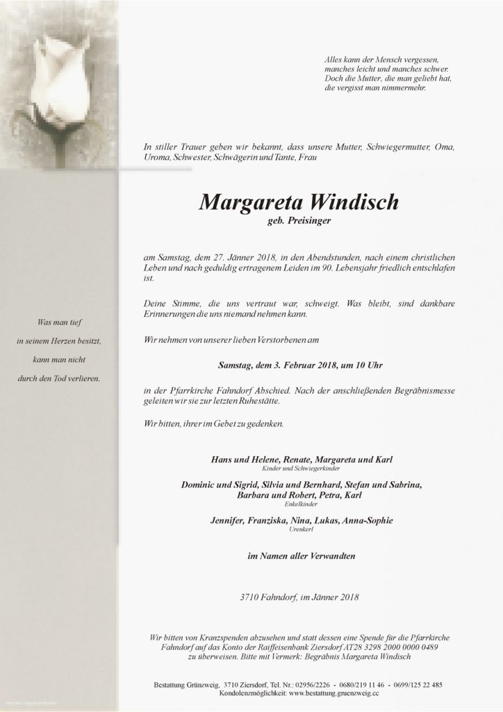 Margareta Windisch