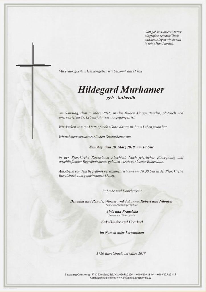 Hildegard Murhamer