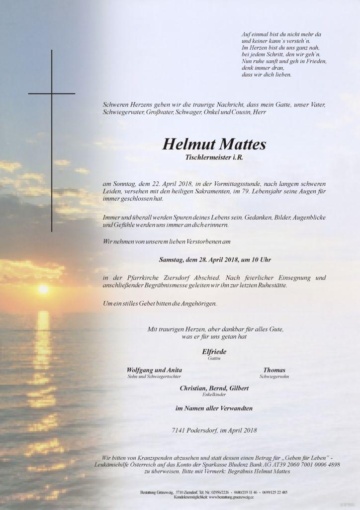 Helmut Mattes