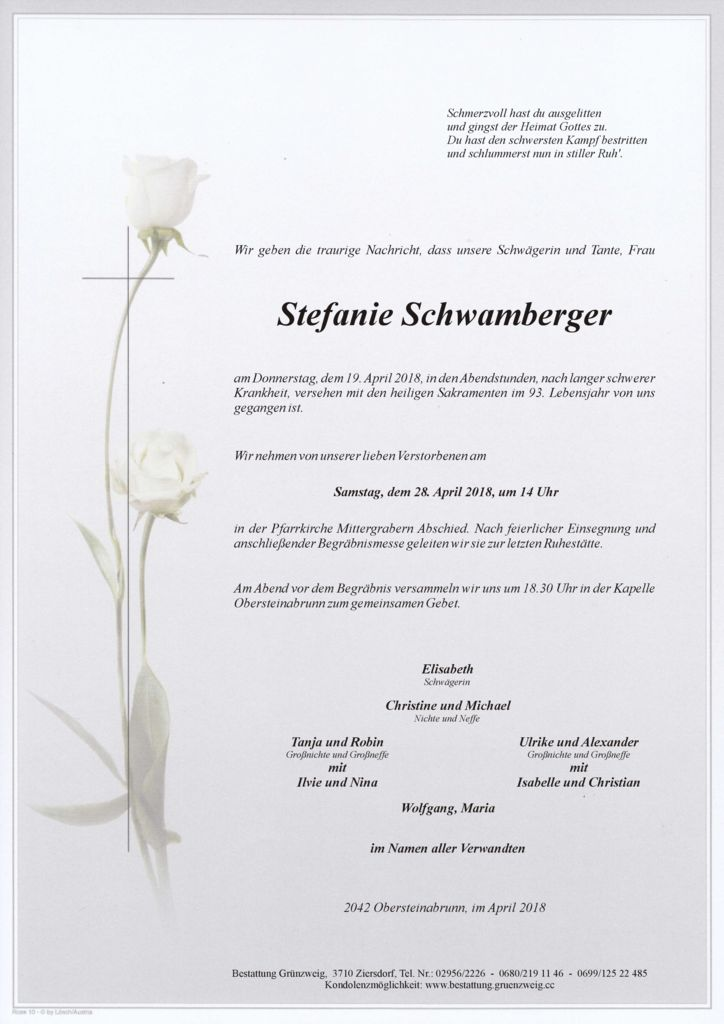 Stefanie Schwamberger