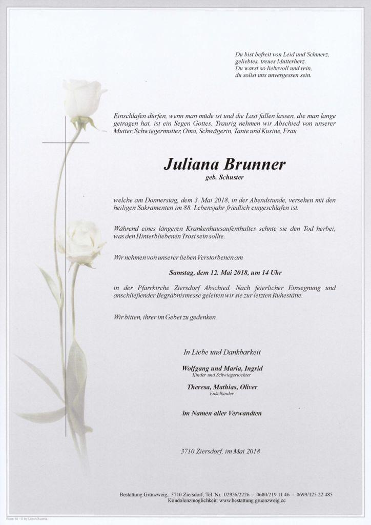 Juliana Brunner