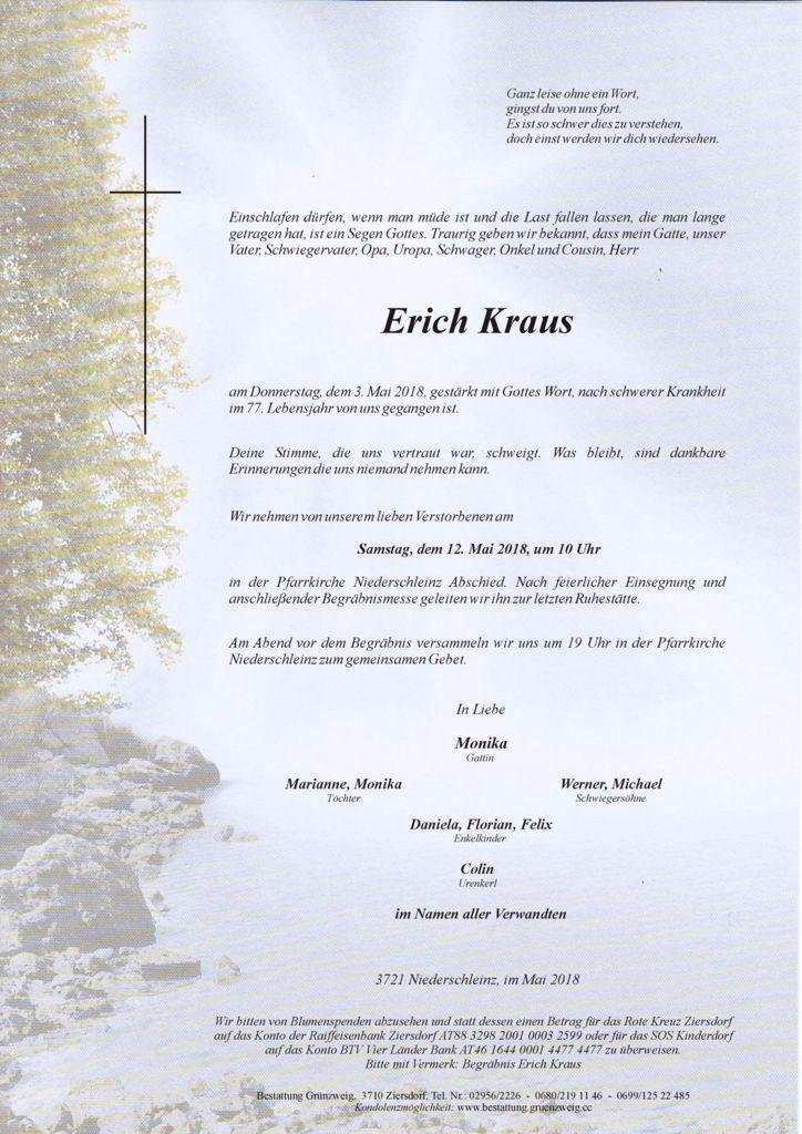 Erich Kraus