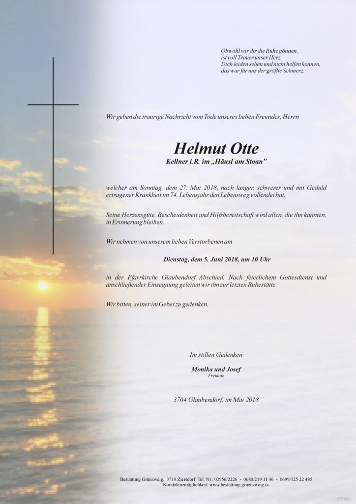 Helmut Otte