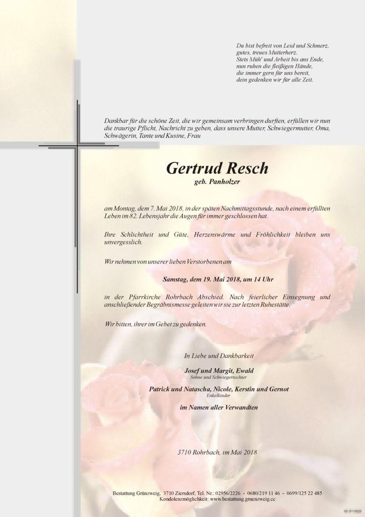 Gertrud Resch