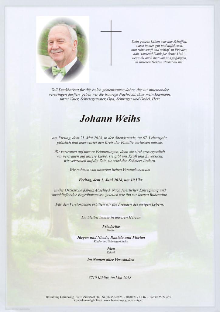 Johann Weihs