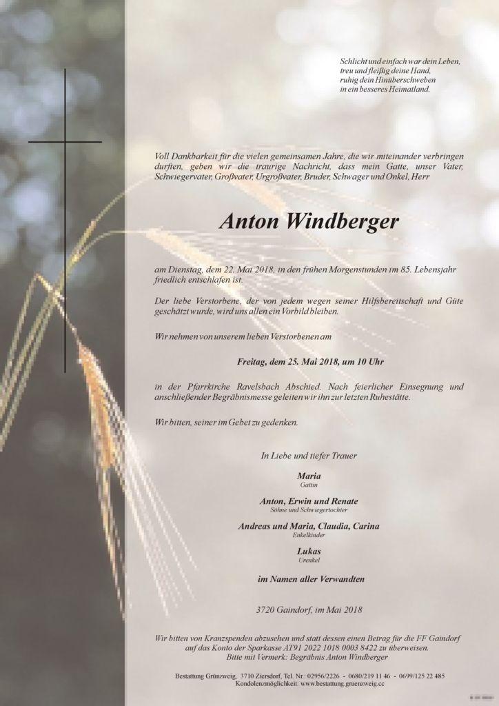 Anton Windberger