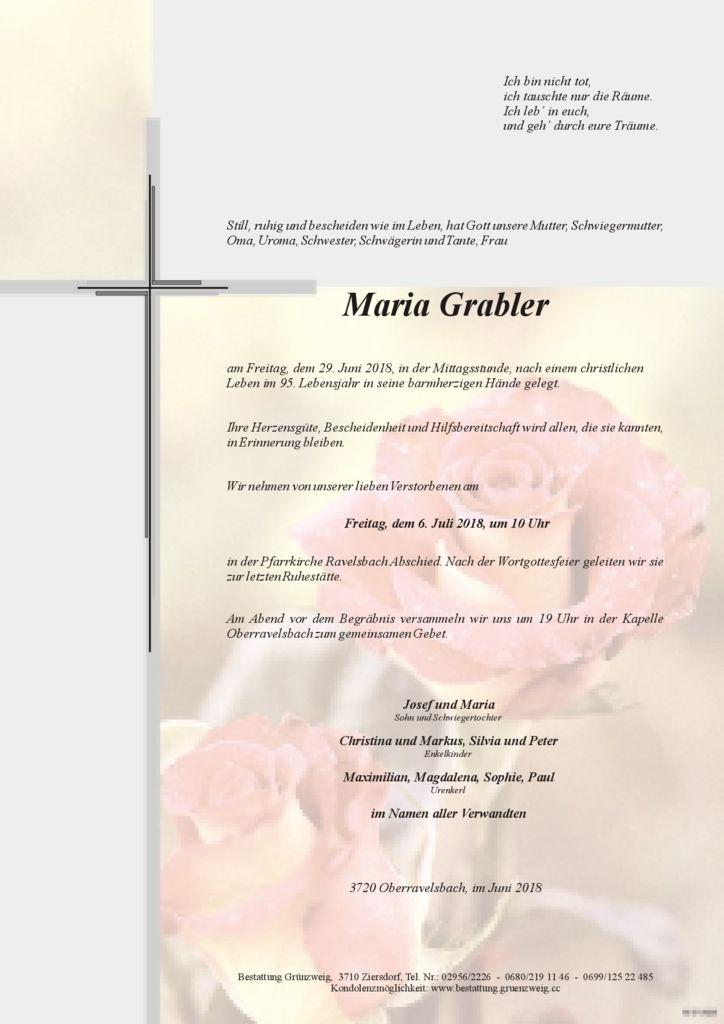 Maria Grabler