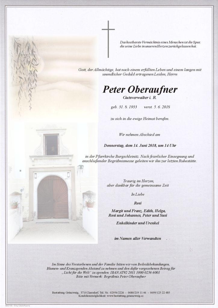 Peter Oberaufner
