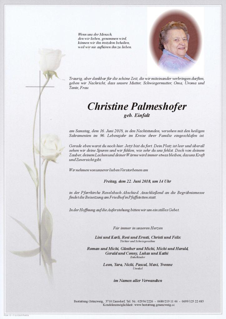Christine Palmeshofer