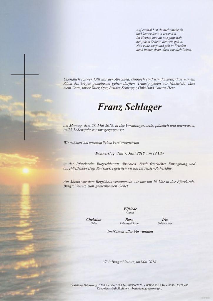 Franz Schlager