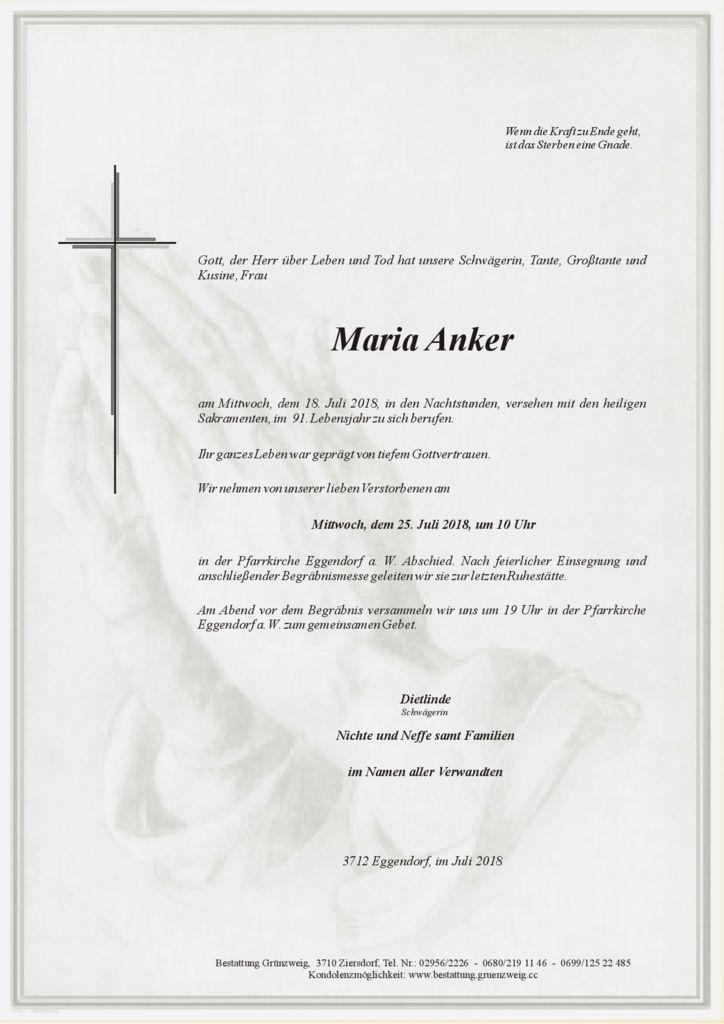 Maria Anker
