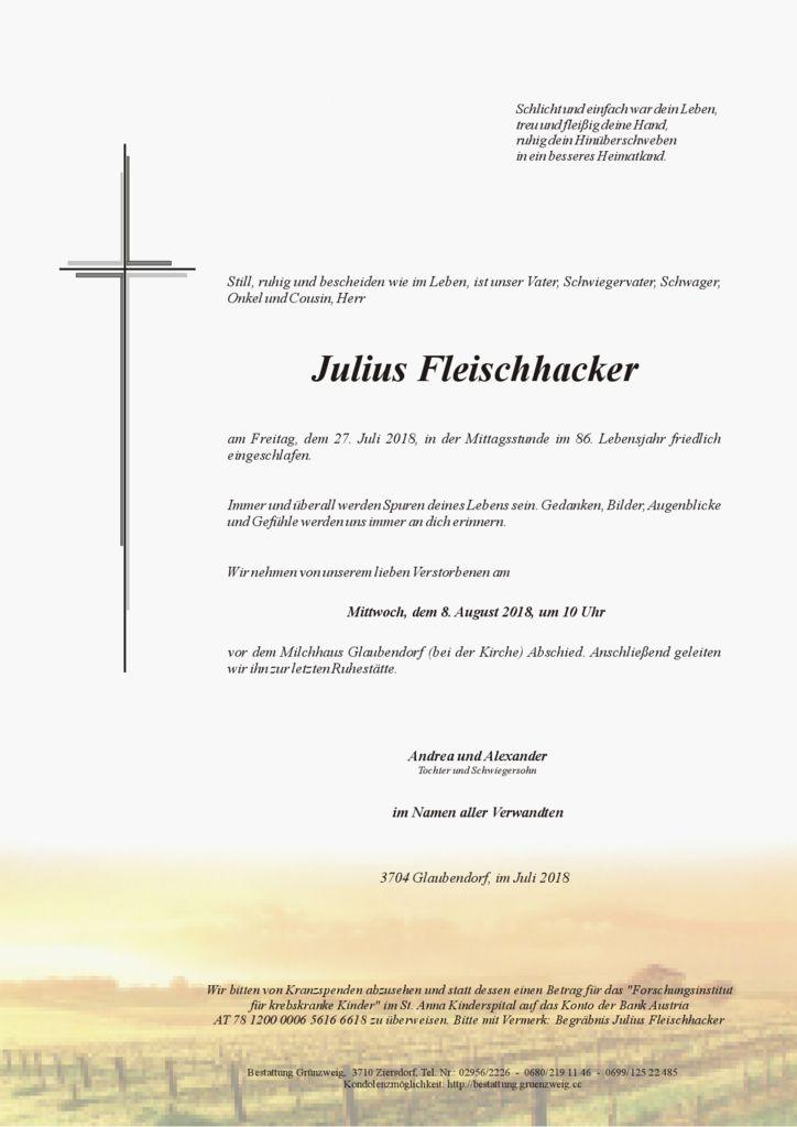Julius Fleischhacker