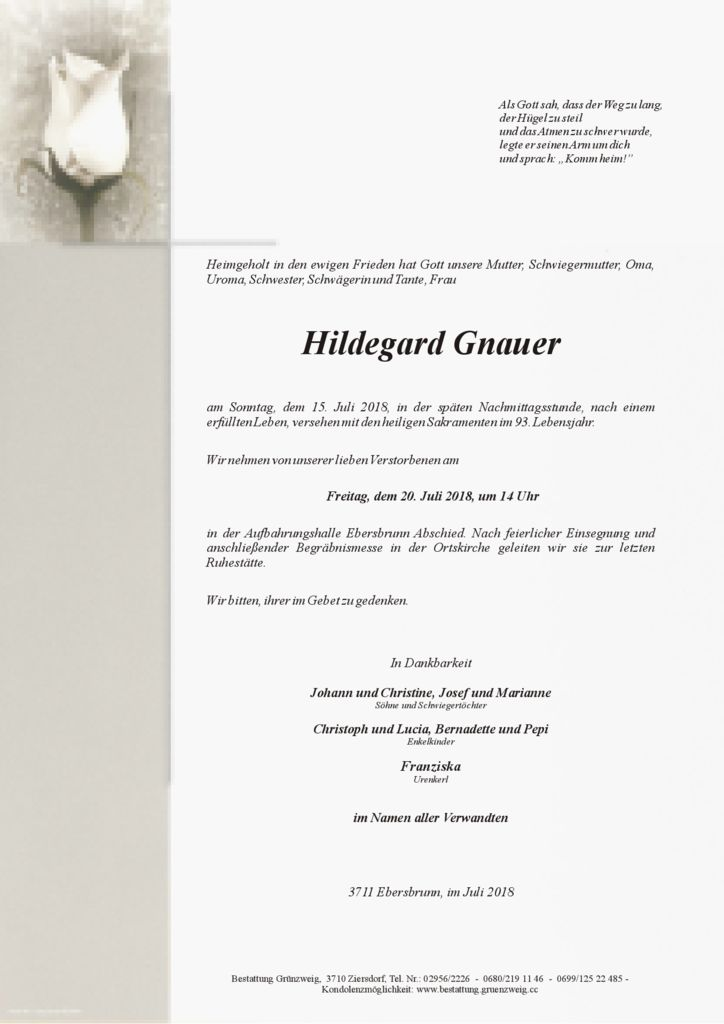 Hildegard Gnauer