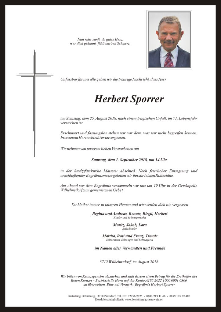 Herbert Sporrer