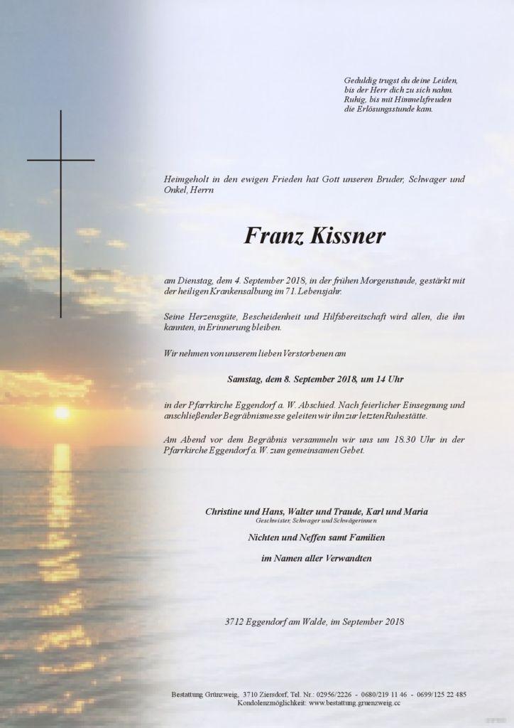 Franz Kissner