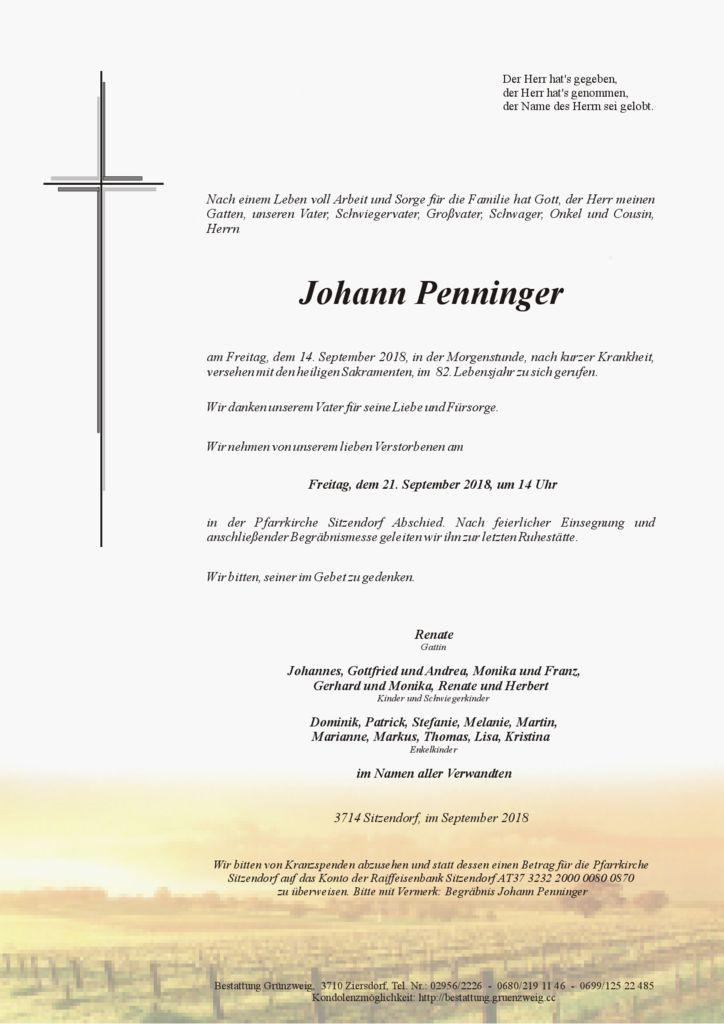Johann Penninger