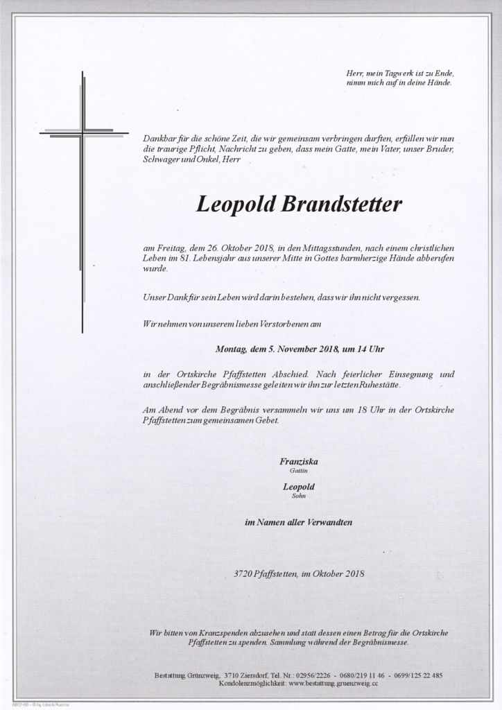 Leopold Brandstetter