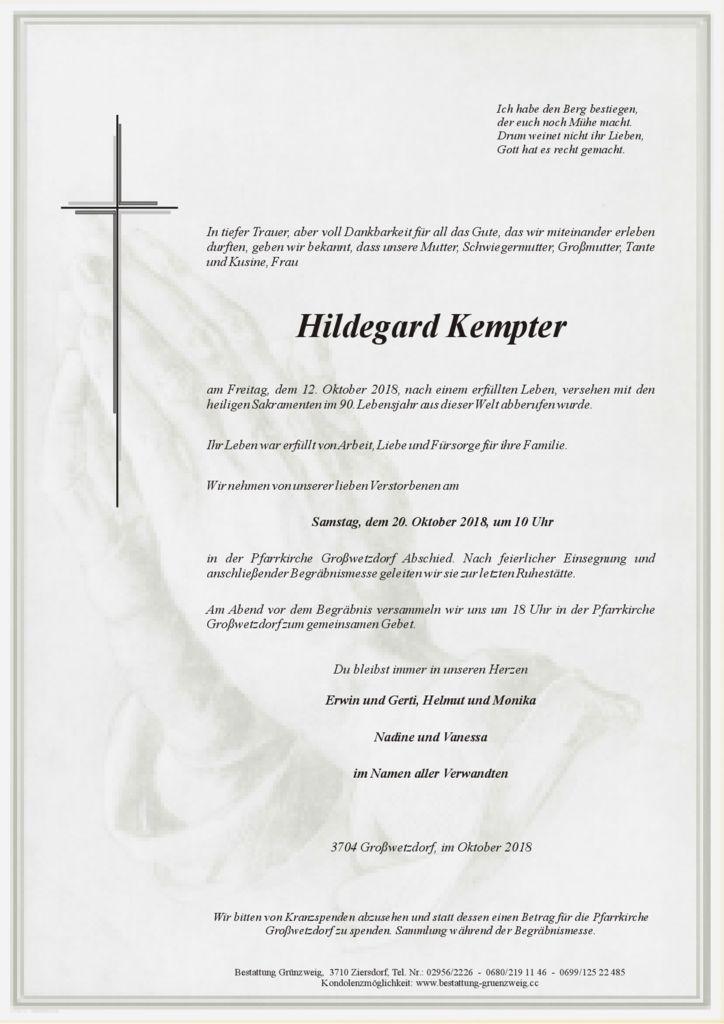 Hildegard Kempter