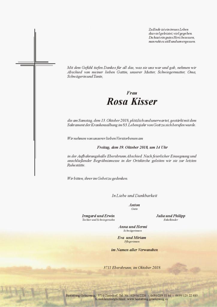 Rosa Kisser