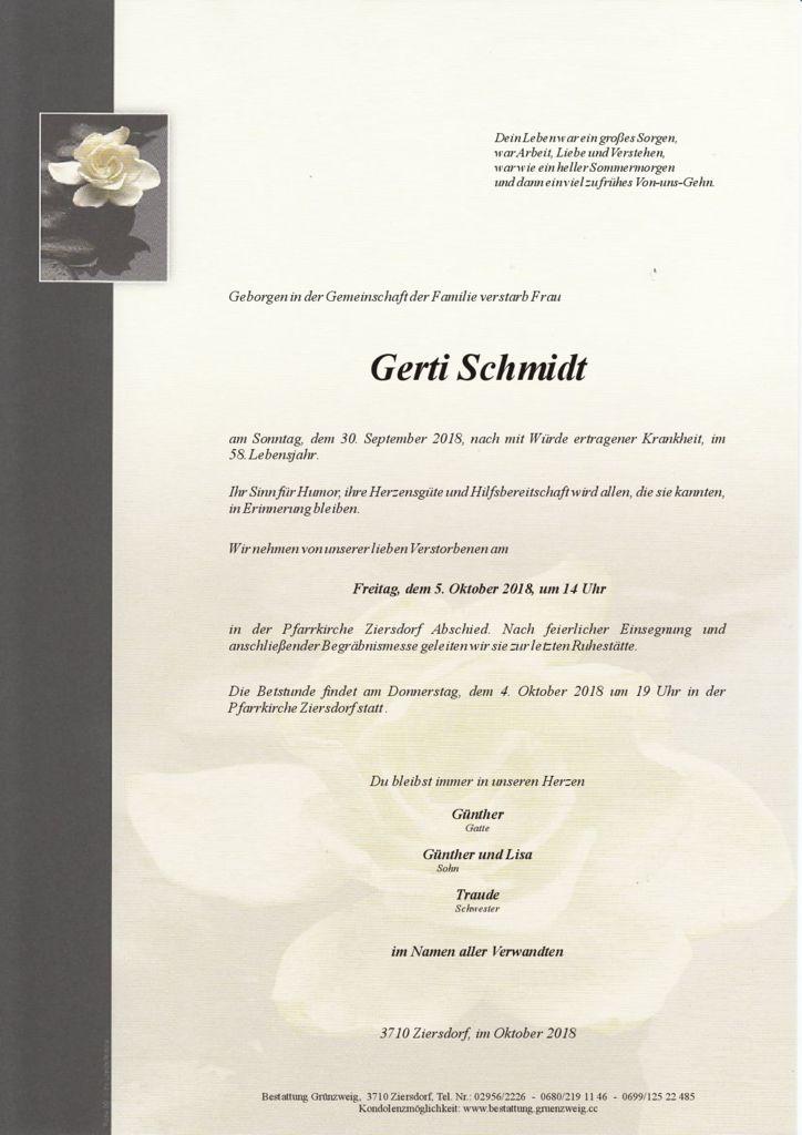 Gerti Schmidt