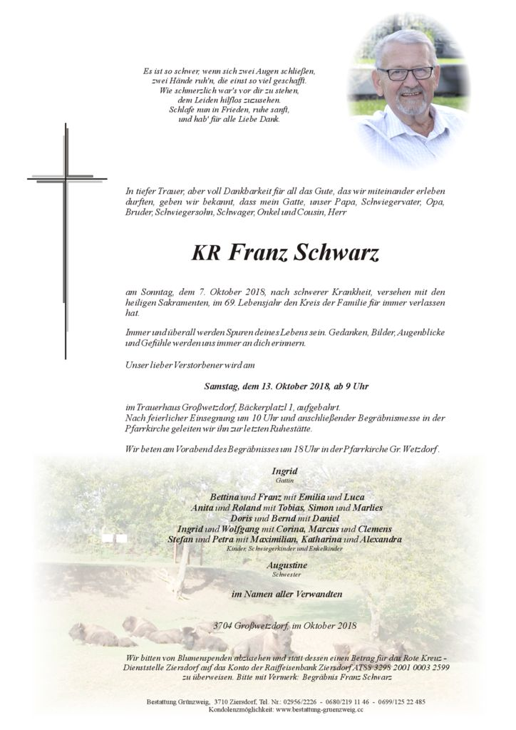 KR Franz Schwarz