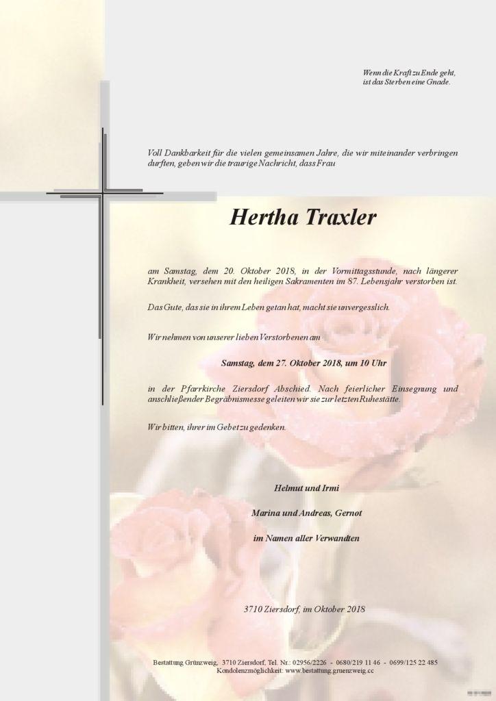 Hertha Traxler