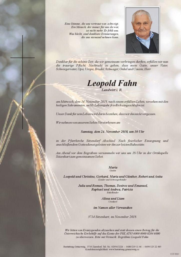 Leopold Fahn