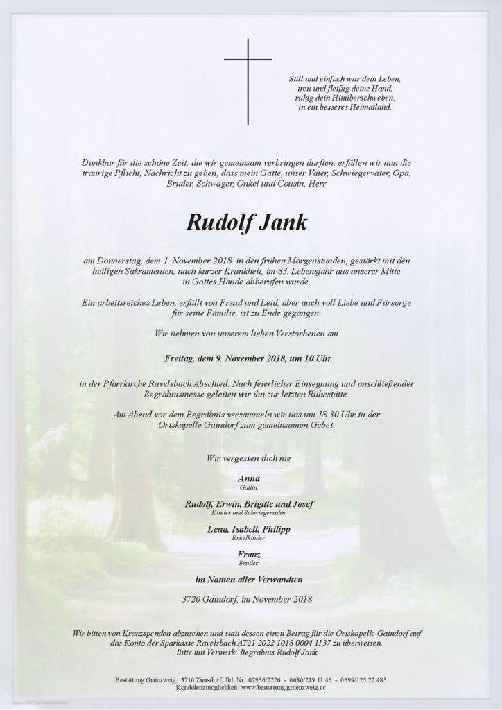Rudolf Jank