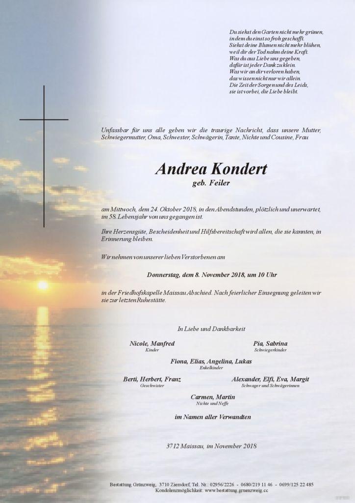 Andrea Kondert