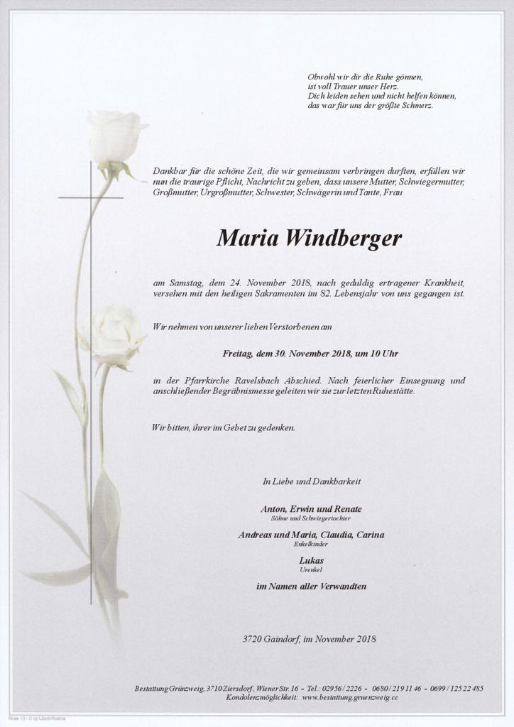 Maria Windberger