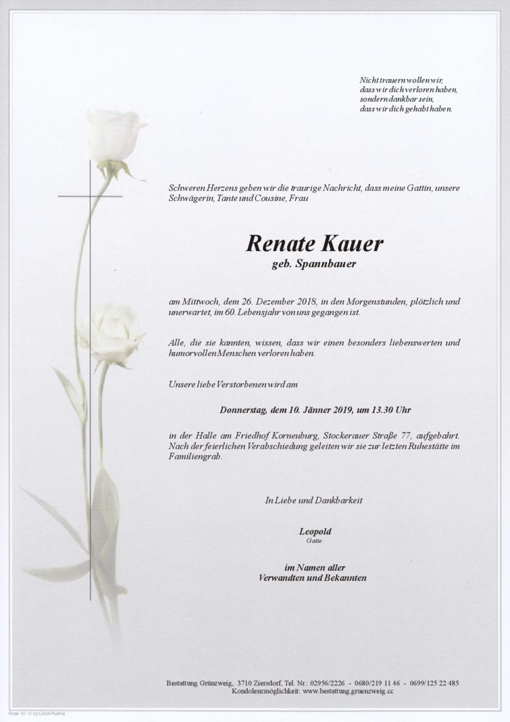 Renate Kauer