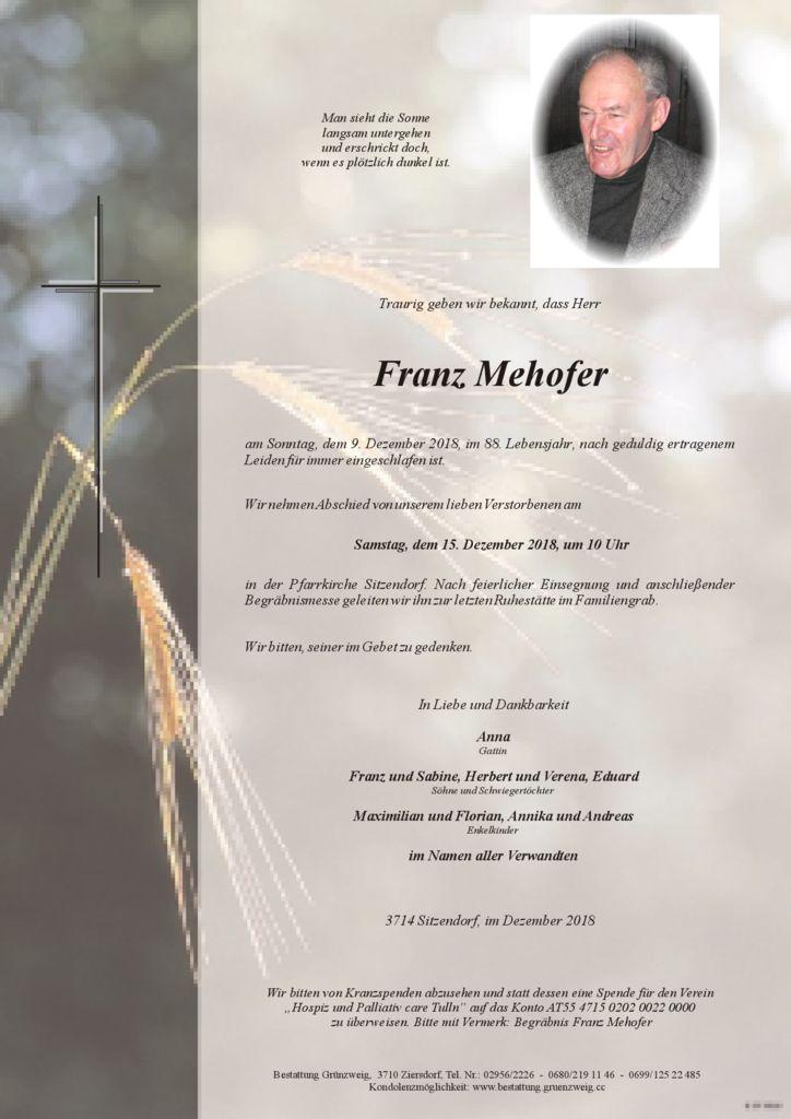 Franz Mehofer