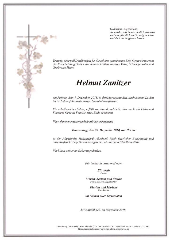 Helmut Zanitzer