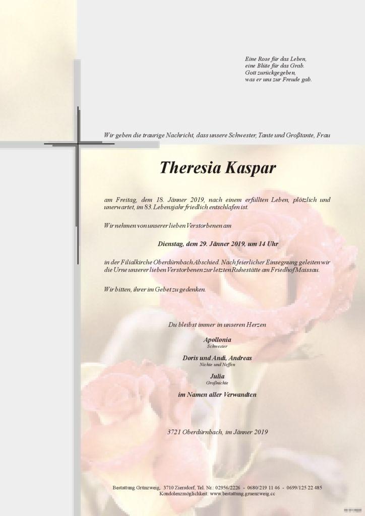 Theresia Kaspar