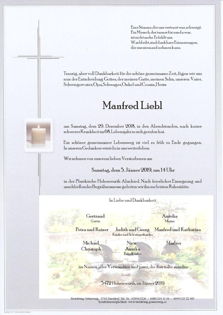 Manfred Liebl