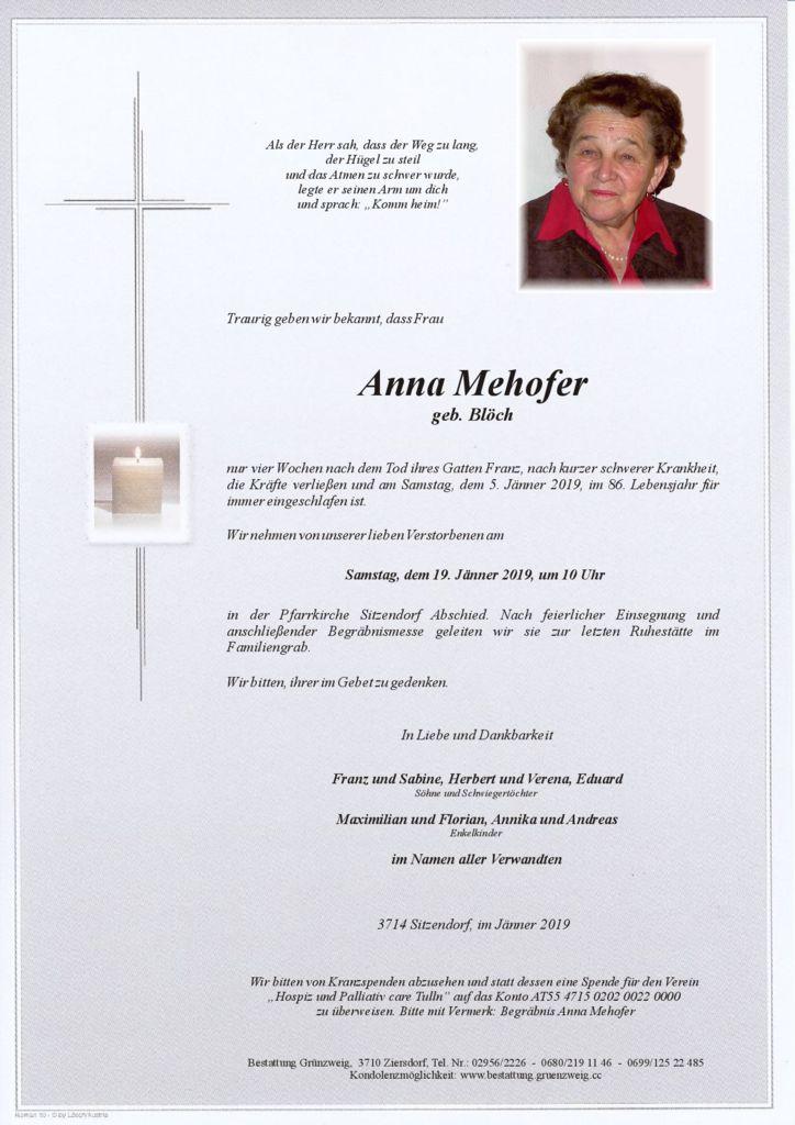Anna Mehofer