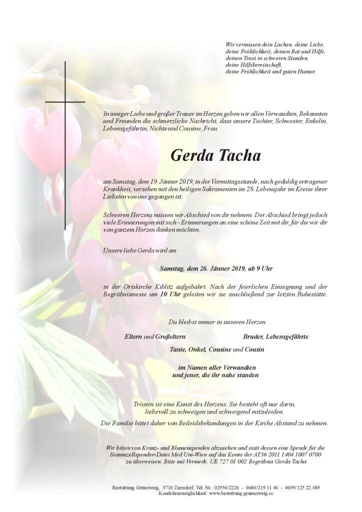 Gerda Tacha