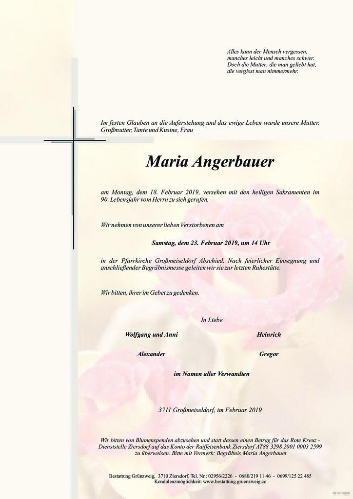 Maria Angerbauer