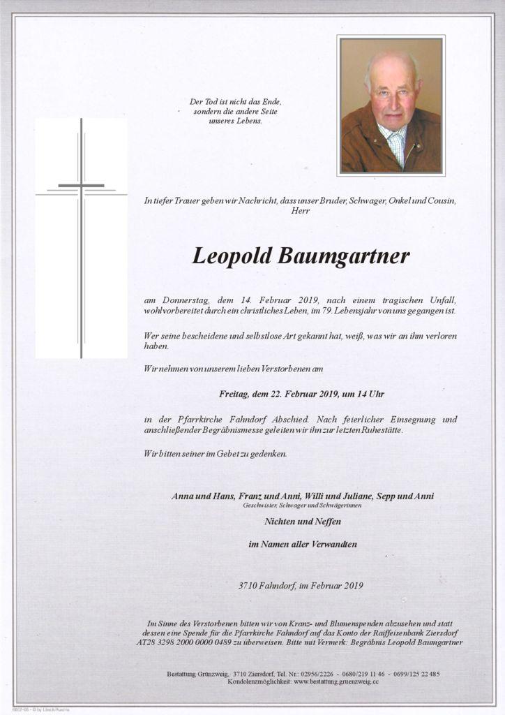 Leopold Baumgartner