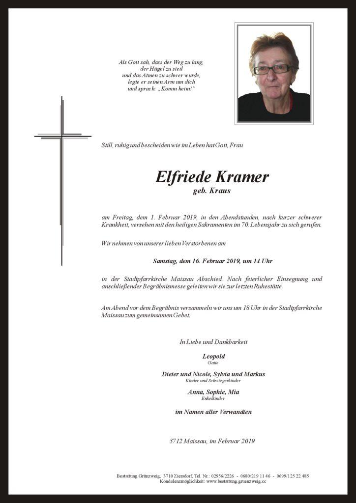 Elfriede Kramer