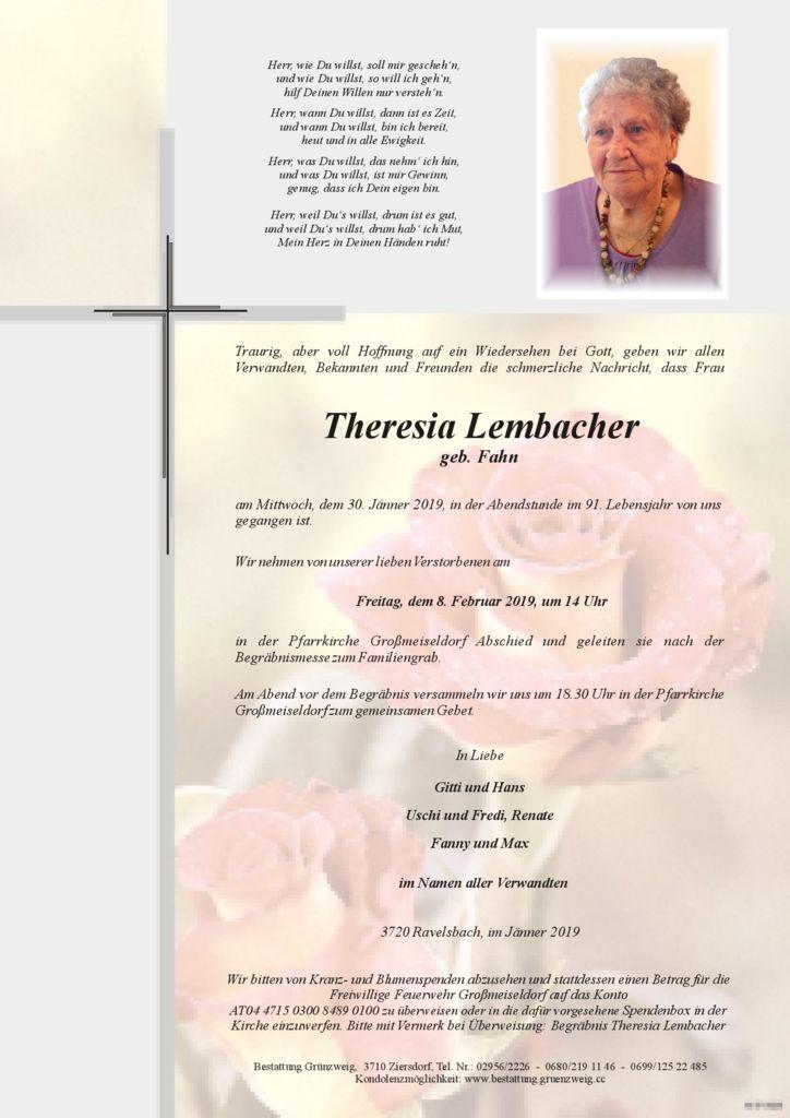 Theresia Lembacher