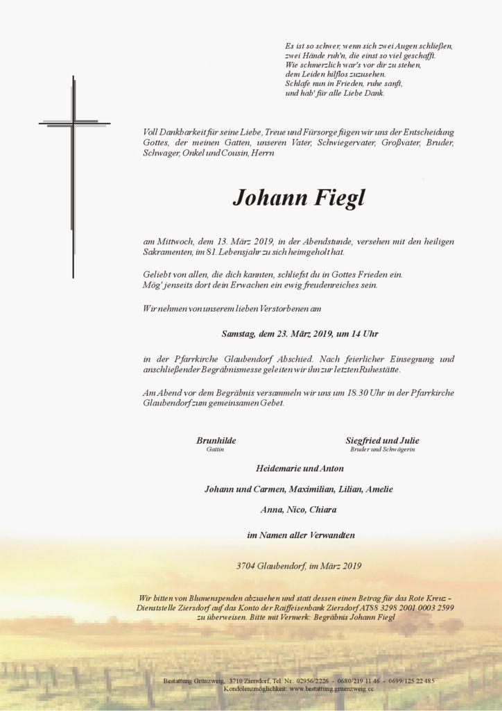 Johann Fiegl