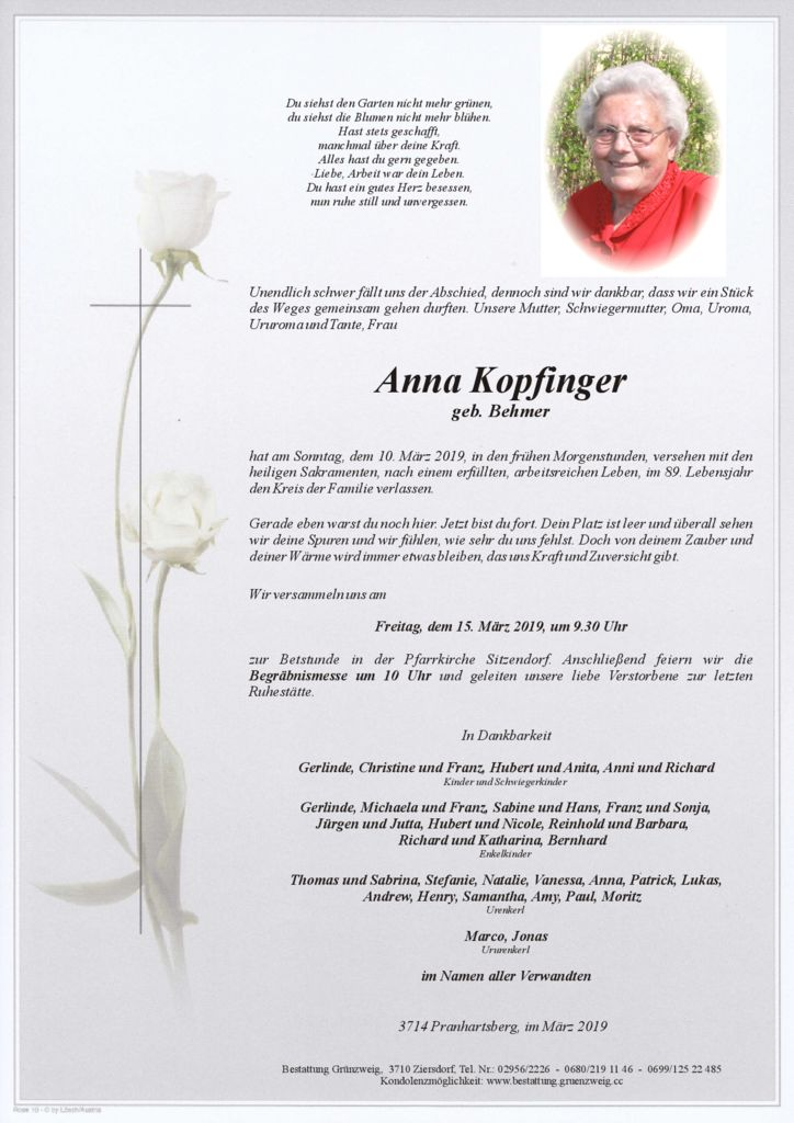 Anna Kopfinger