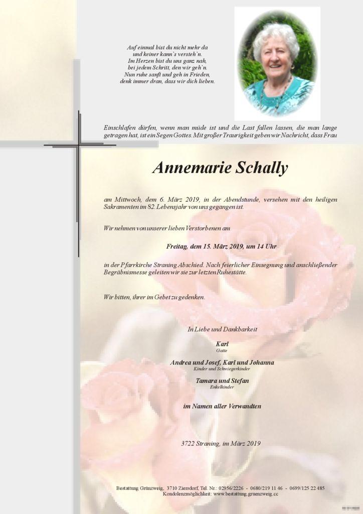 Annemarie Schally
