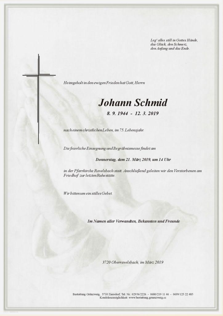 Johann Schmid