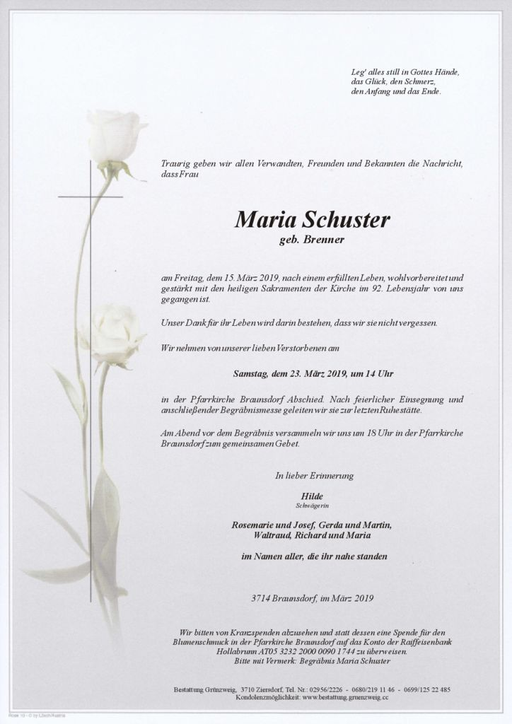 Maria Schuster