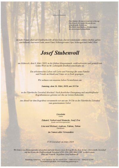 Josef Stubenvoll