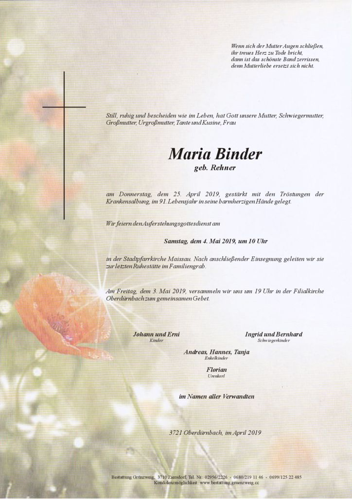 Maria Binder